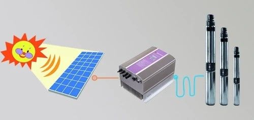 Multi Stage DC Solar Water Pump Seawater Desalination Easy Installation